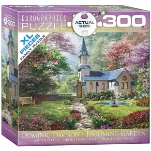 Blooming Garden Puzzle, 300 Pieces - Image 1 of 1