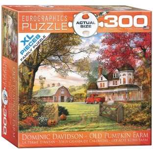 Old Pumpkin Farm Puzzle, 300 Pieces - Image 1 of 1
