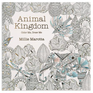 Animal Kingdom Adult Coloring Book - Image 1 of 1