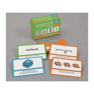 Common Core Collaborative Cards for Fractions - Image 1 of 1