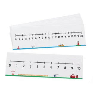 0-10 And 0-20 Number Line Set - Image 1 of 1