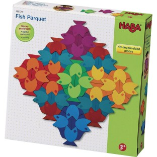 Fish Parquet Pattern Making Puzzle - Image 1 of 2