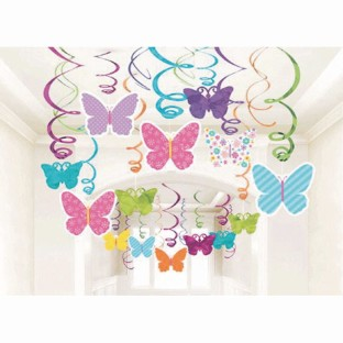 Spring Mega Value Swirl Decorations - Image 1 of 1