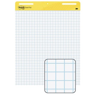 Post-It® Graph Paper Easel Pad, 25