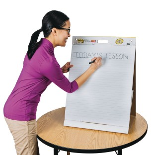 Post-It® Tabletop Easel Pad with Primary Lines, 20