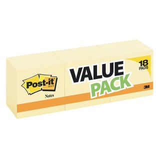 Post-It® Notes Yellow, 3