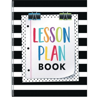 Bold And Bright Lesson Plan Book - Image 1 of 1