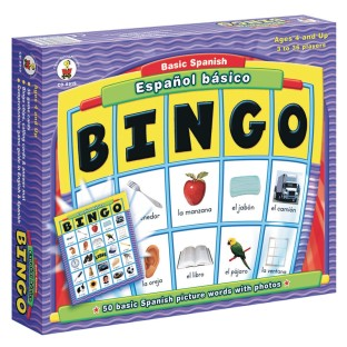 Español Basico – Basic Spanish Bingo Game - Image 1 of 1