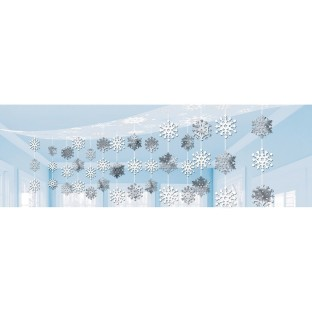 Snowflake Ceiling Decoration - Image 1 of 1