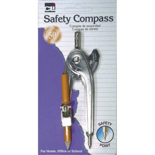 Compass with Pencil Safety Point - Image 1 of 1