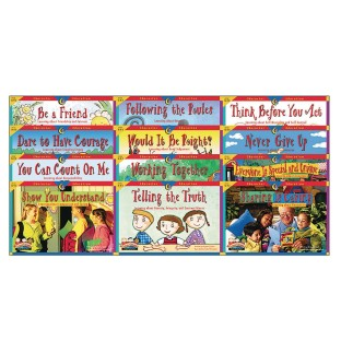 Character Education Readers Book Set (Set of 12) - Image 1 of 1