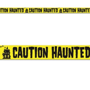 Haunted Party Tape (Pack of 12) - Image 1 of 1