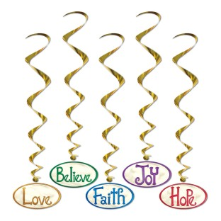 Christmas Word Whirls (Set of 5) - Image 1 of 1