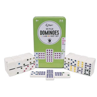 Double Nine Dominoes In a Tin - Image 1 of 1