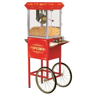 Popcorn Trolley with 8oz. Kettle - Image 1 of 1