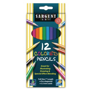 Sargent Art® Colored Pencils (Box of 12) - Image 1 of 1
