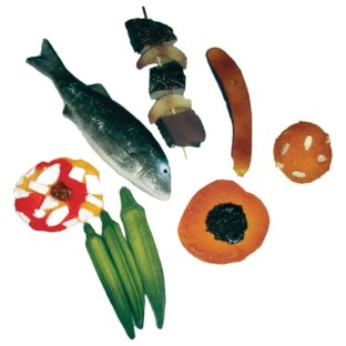 African Play Food Set - Image 1 of 1