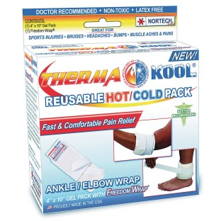 Therma-Kool® Hot or Cold Therapy Ankle and Elbow Wrist Freedom Wrap® - Image 1 of 3