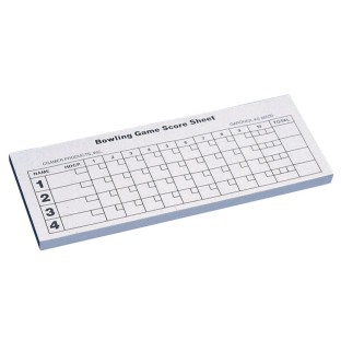 Bowling Score Pad (100 sheets) - Image 1 of 1