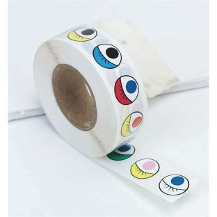 Colored Eye Stickers - Image 1 of 1