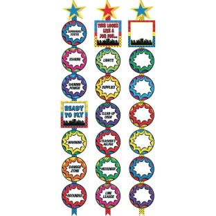 Super Heroes Ready Reminders Display Charts - Image 1 of 1
