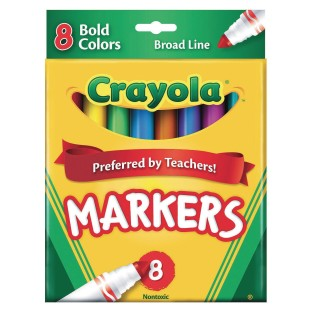 Crayola® Classic Markers, Bold Colors - Image 1 of 1