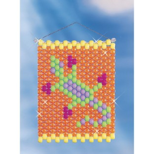 Beaded Banner Weaving Kit, Gecko - Image 1 of 1