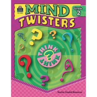 Mind Twisters Book Grade 2 - Image 1 of 1