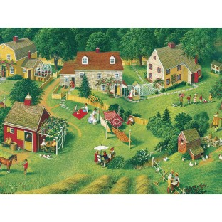 Back Yards Easy Handling Puzzle, 275 Pieces - Image 1 of 1