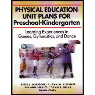PE Unit Plans Pre-K to K Book - Image 1 of 1