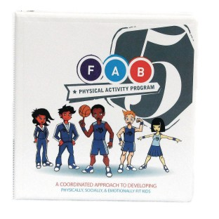 Focused Fitness Fab 5® Physical Activity Program Manual and CD ( of 1) - Image 1 of 1
