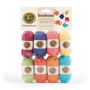 Bonbons® Mini Acrylic Yarn Pack - Brights (Pack of 8) - Image 1 of 1