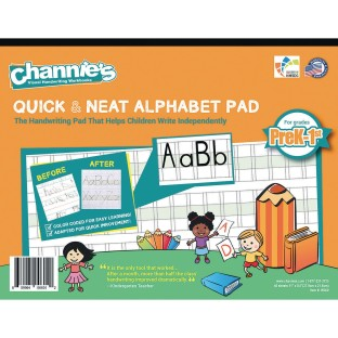 Quick & Neat Alphabet Handwriting Paper, Grades Pre-K – 1 - Image 1 of 1