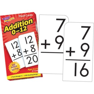 Addition Flash Cards - Image 1 of 1
