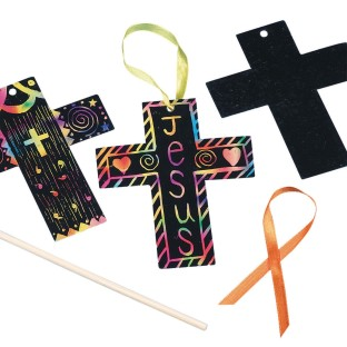 Scratch Cross Craft Kit (Pack of 24) - Image 1 of 1