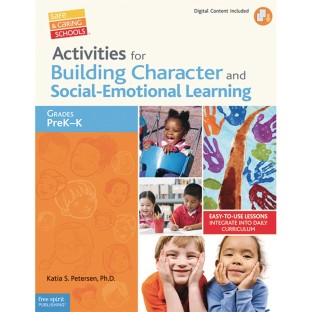 Activities for Building Character and Social Emotional Learning Book, Grades PreK-K - Image 1 of 1