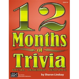 12 Months Of Trivia Book ( of 1) - Image 1 of 1