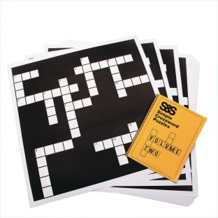 Simple Giant Crossword Puzzle Set Volume 2 - Image 1 of 1