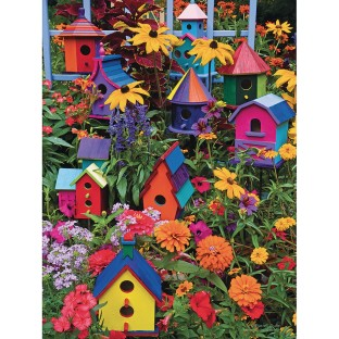 Birdhouses Easy Handling Puzzle, 275 Pieces - Image 1 of 1
