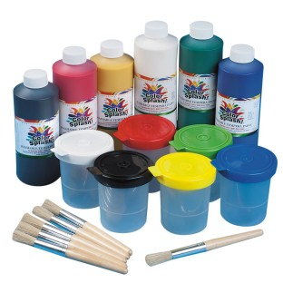 Color Splash!® Washable Tempera Paint Easy Pack - Image 1 of 1