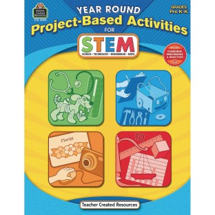 Year Round Project Based Activities for STEM Grades PREK-K Book - Image 1 of 1