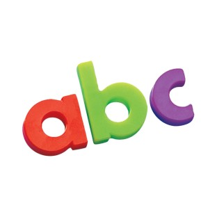 Magnetic Lowercase Letters - Image 1 of 2