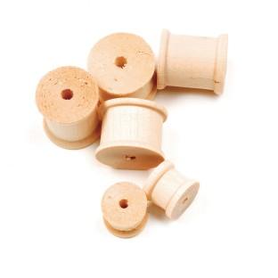 Wood Spools Assorted Sizes