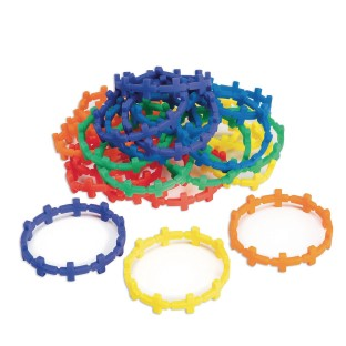 Connected Cross Silicone Bracelet (Pack of 24) - Image 1 of 1
