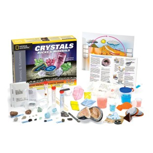 Crystals, Rocks and Minerals Science Kit - Image 1 of 1