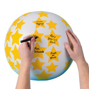 Create Your Own Toss 'n Talk-About® Ball - Image 1 of 1