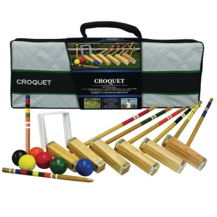 Advanced Six-Player Croquet Set - Image 1 of 3