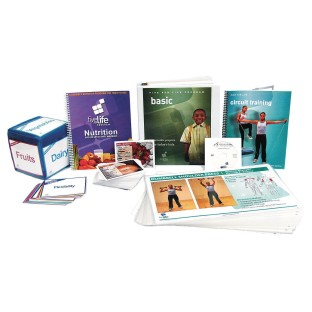 Focused Fitness FIVE FOR LIFE® Basic Teacher Curriculum Kit - Image 1 of 1