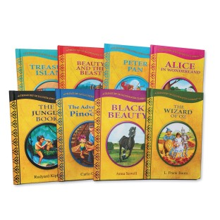 Treasury of Classic Books (Pack of 8) - Image 1 of 2