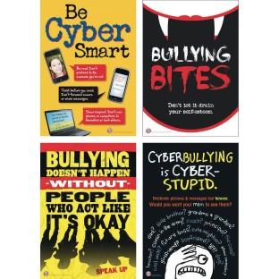 Bully Prevention Bulletin Board Set for Middle School Grades - Image 1 of 1